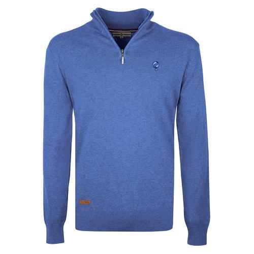 Men's Pullover Kralingen - Mid Blue