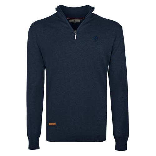 Men's Pullover Kralingen - Denim Blue