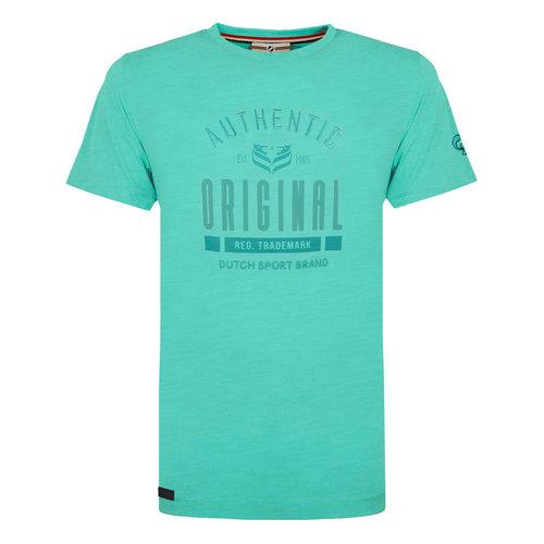 Heren T-shirt Duinzicht - Mintgroen