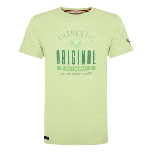 Heren T-shirt Duinzicht - Zachtgroen
