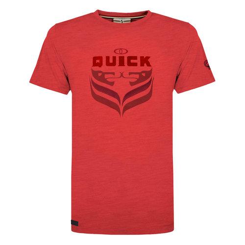Heren T-shirt Duinzicht - Rood