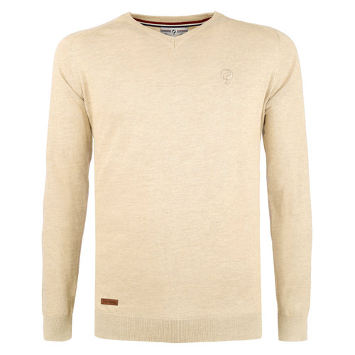 Men's Pullover Heemskerk - Light Beige