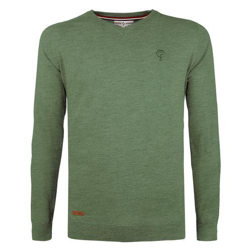 Men's Pullover Heemskerk - Oase Green
