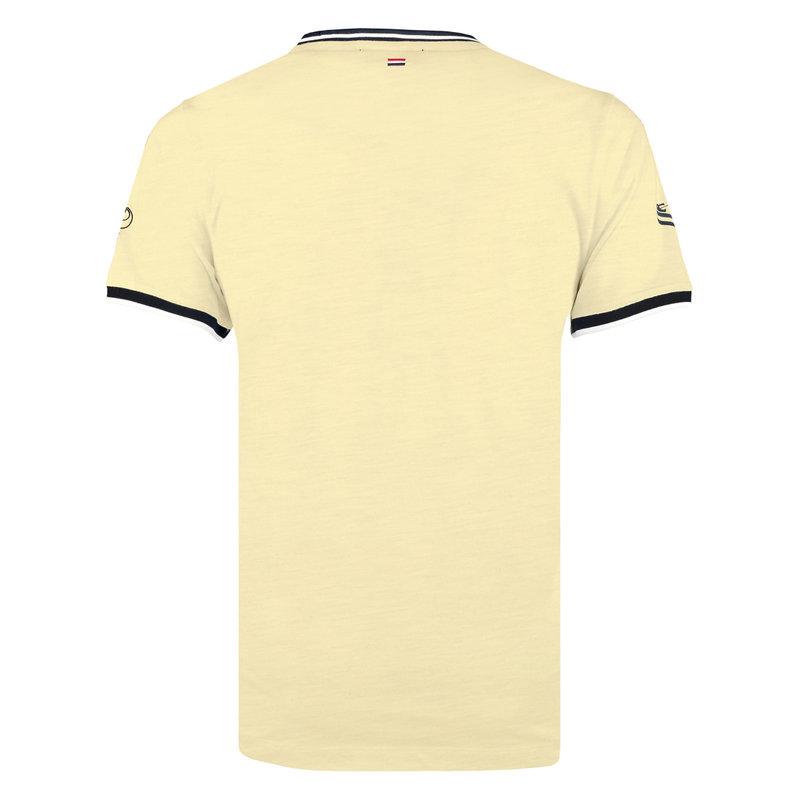 Q1905 Heren T-shirt Oostdorp - Pastel Geel