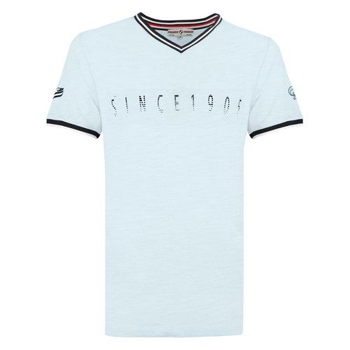 Heren T-shirt Oostdorp - Lichtblauw