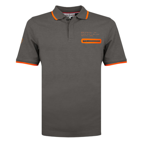 Men's Polo Zomerland - Dark Grey