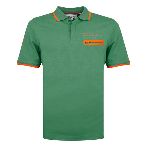 Men's Polo Zomerland - Hard Green