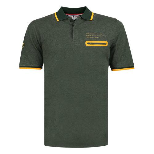 Men's Polo Zomerland - Dark Green