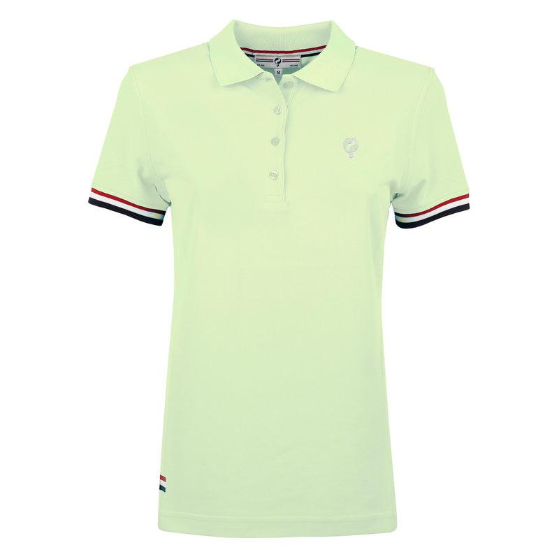 Q1905 Women's Polo Square - Soft Green