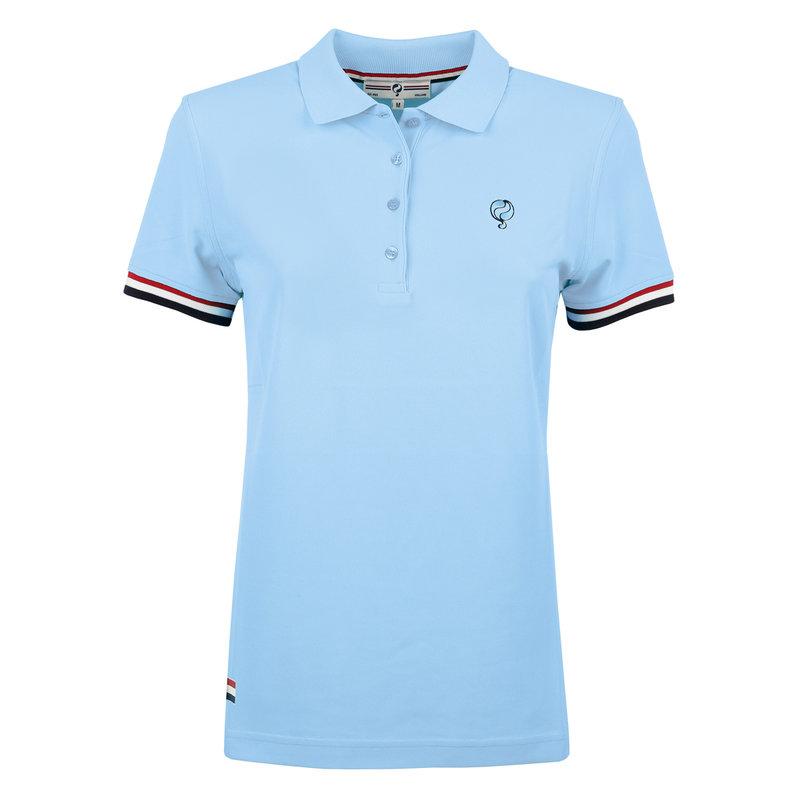 Q1905 Women's Polo Square - Light Blue
