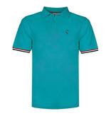 Q1905 Men's Polo Bloemendaal - Aqua Blue