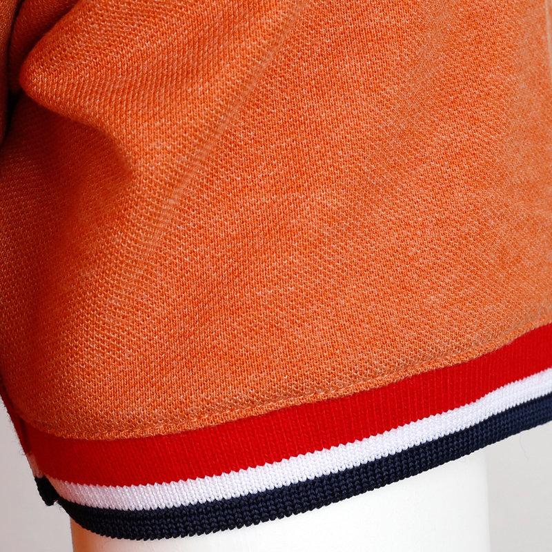 Q1905 Heren Polo Bloemendaal - Roest Oranje