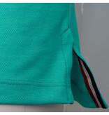 Q1905 Heren Polo Bloemendaal - Mint Groen