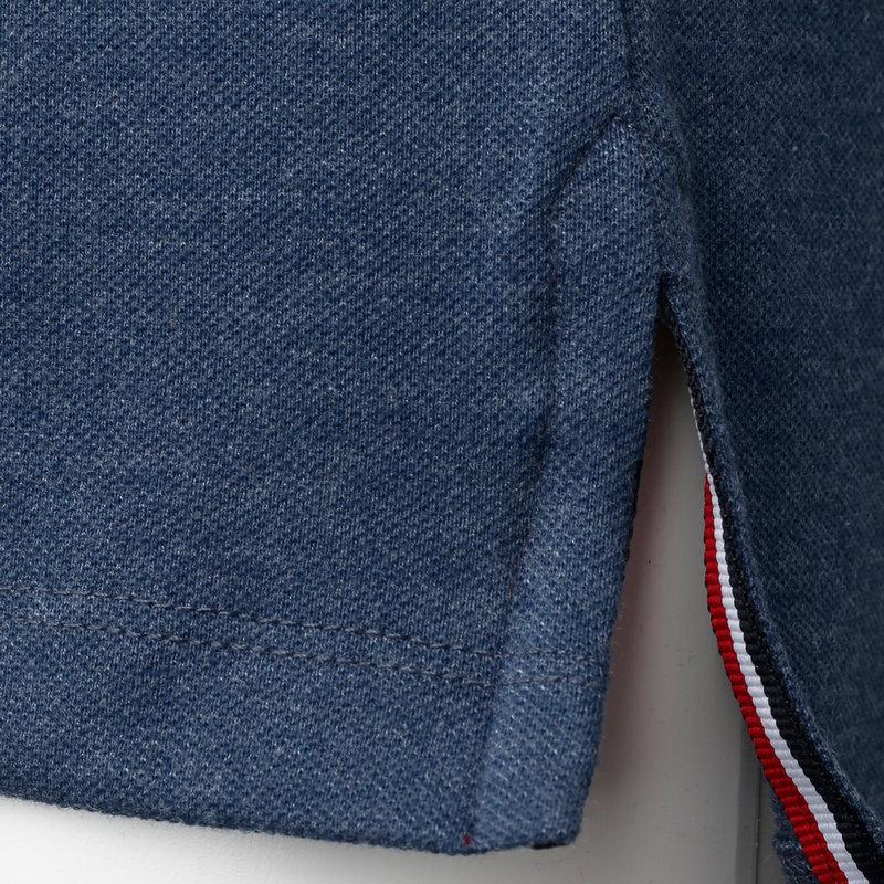 Q1905 Heren Polo Bloemendaal - Poederblauw