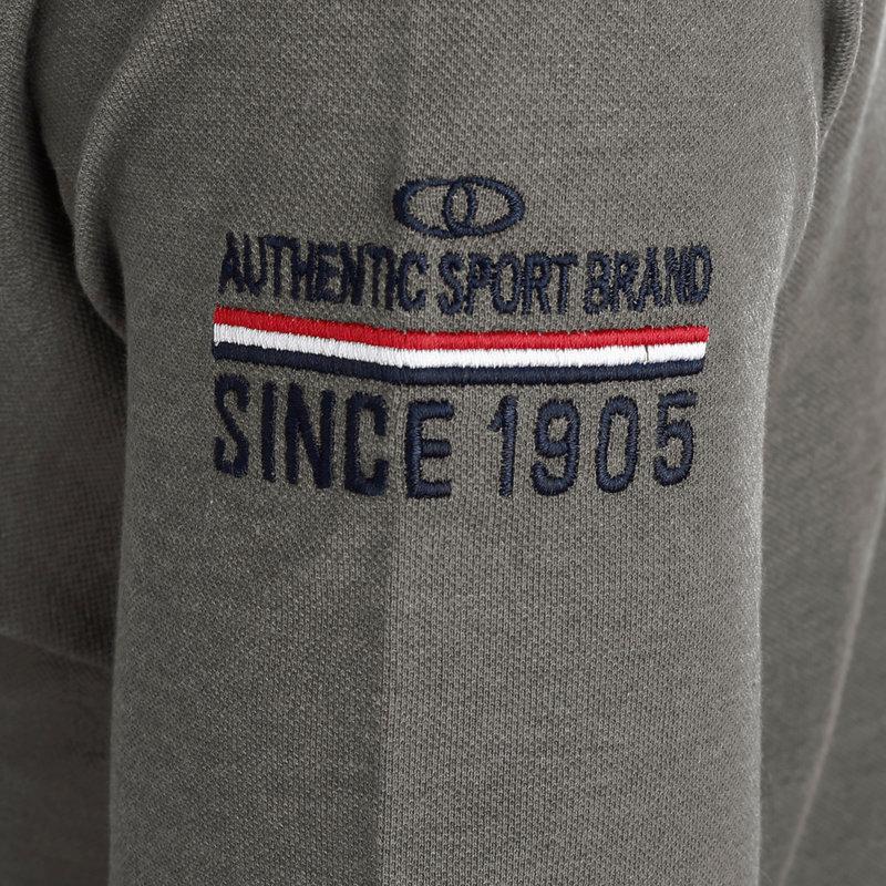 Q1905 Heren Polo Willemstad - Donkergrijs