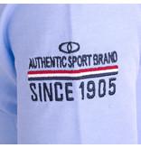 Q1905 Heren Polo Willemstad - Lila Blauw