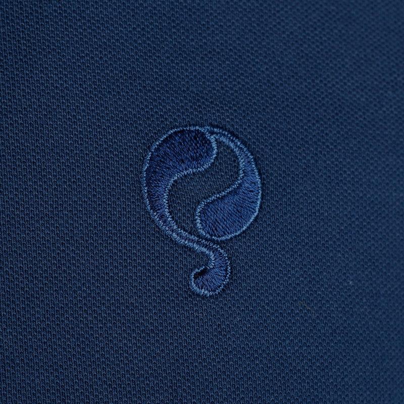 Q1905 Heren Polo Willemstad - Marine Blauw