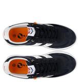 Q1905 Heren Sneaker Cycloon - Donkerblauw/Wit