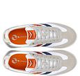 Q1905 Heren Sneaker Cycloon - Wit/Rood-Blauw