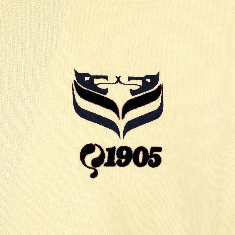 Q1905 Heren Polo Middelburg - Pastel Geel