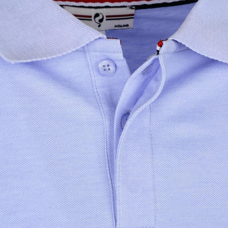 Q1905 Men's Polo Zomerland - Lila Blue