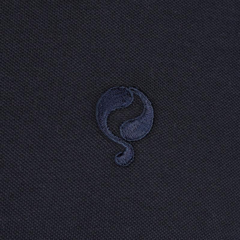Q1905 Men's Polo Santpoort - Dark Blue/Marine Blue