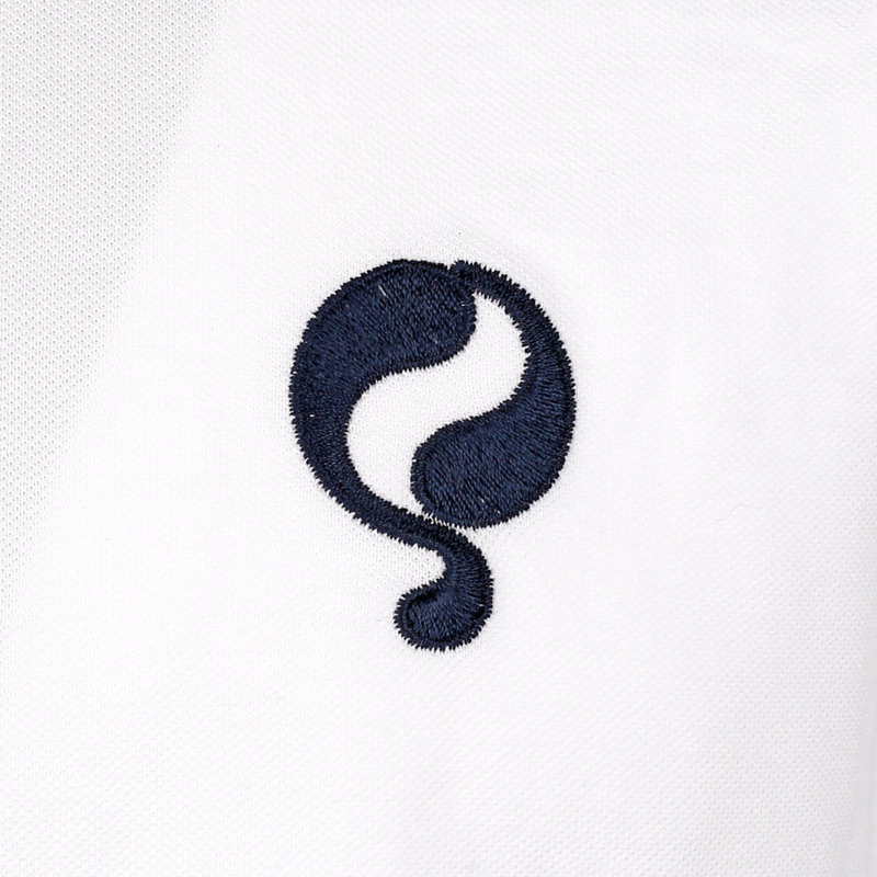Q1905 Men's Polo Oosterwijk - White/Dark Blue