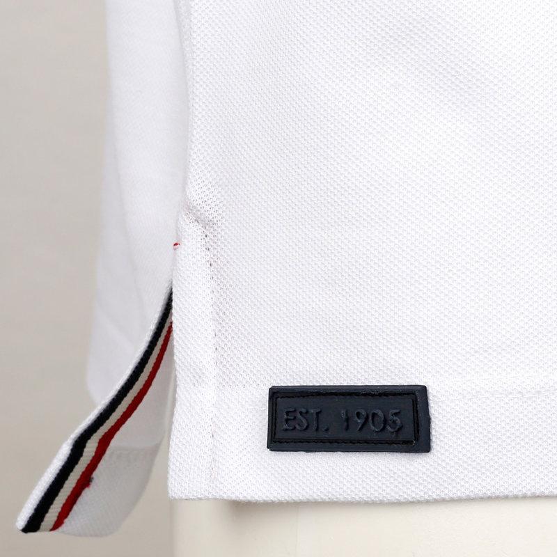 Q1905 Heren Polo Oosterwijk - Wit