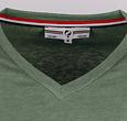Q1905 Heren T-shirt Egmond - Oase Groen