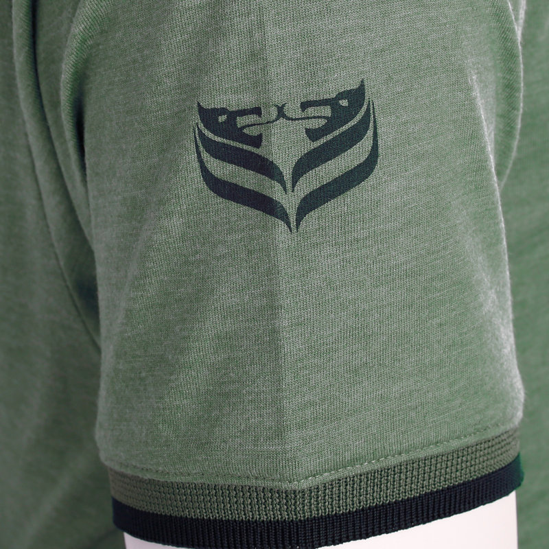Q1905 Men's T-shirt Egmond - Oase Green
