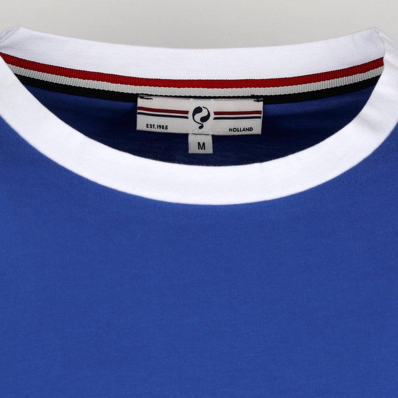 Q1905 Men's T-shirt Captain - Hard Blue/White