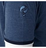 Q1905 Heren T-shirt Oostdorp - Poederblauw