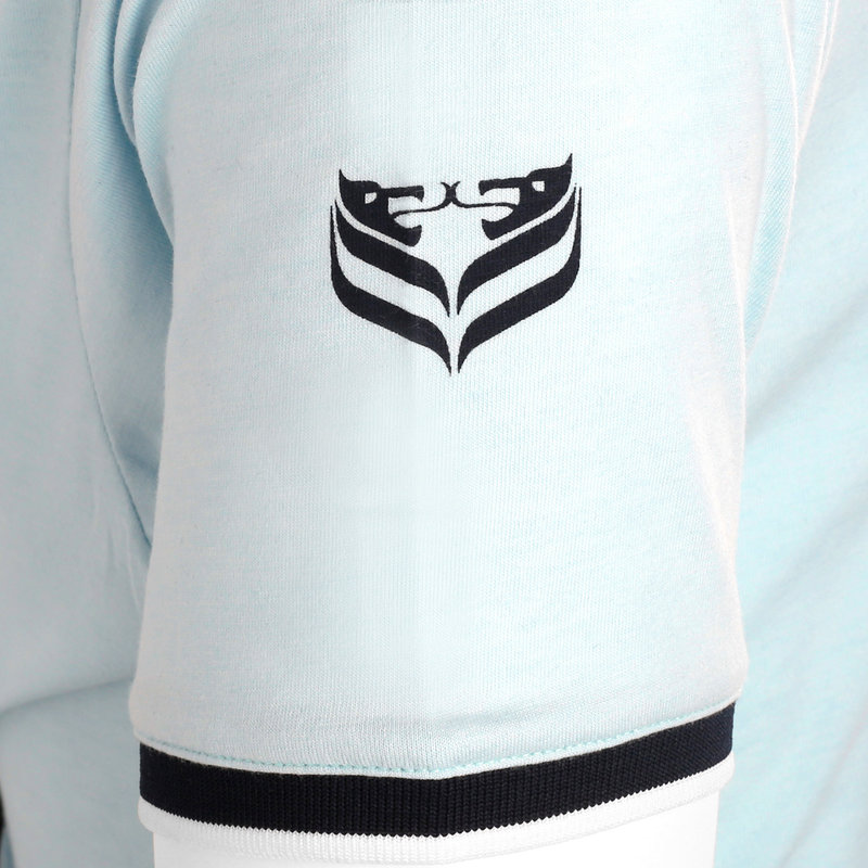 Q1905 Heren T-shirt Oostdorp - Lichtblauw
