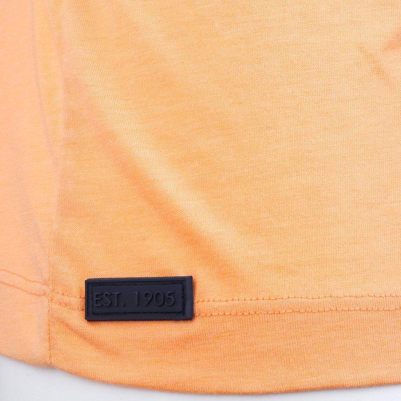 Q1905 Heren T-shirt Duinzicht - Abrikoos