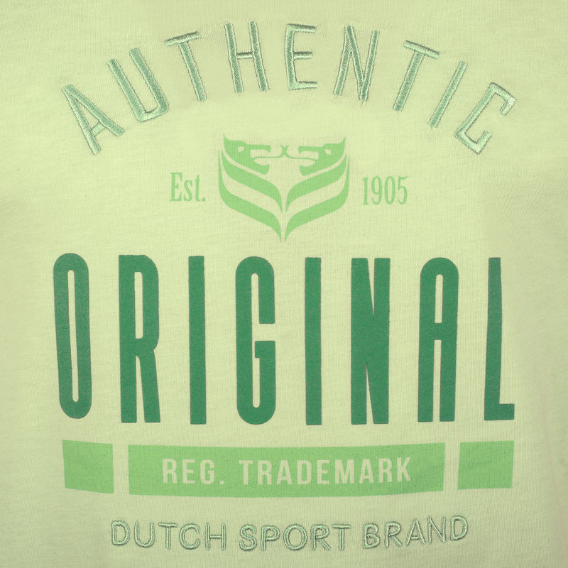 Q1905 Men's T-shirt Duinzicht - Soft Green