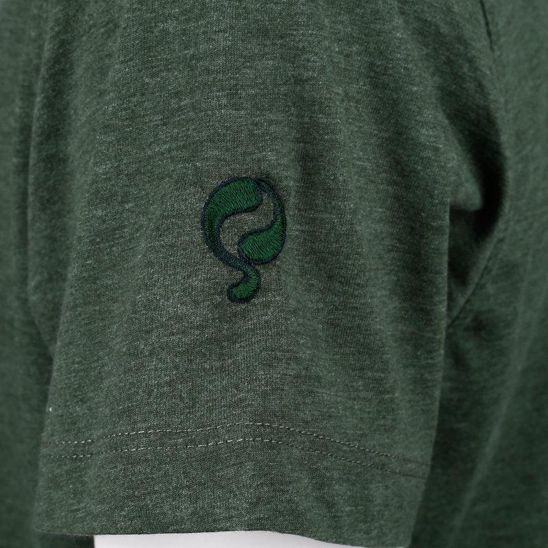 Q1905 Men's T-shirt Duinzicht - Dark Green