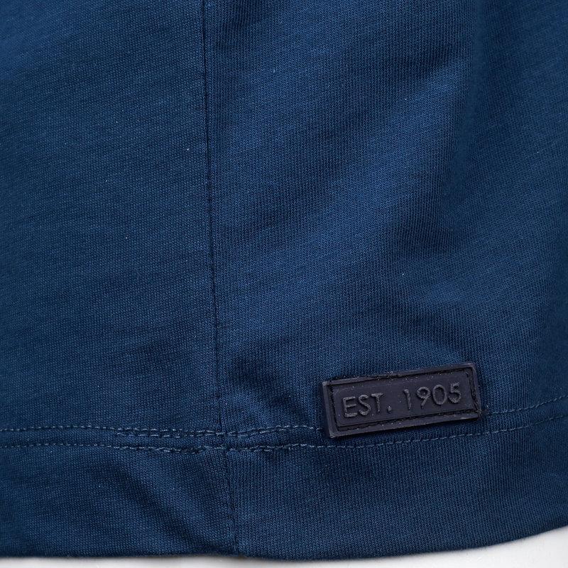 Q1905 Heren T-shirt Duinzicht - Marine Blauw