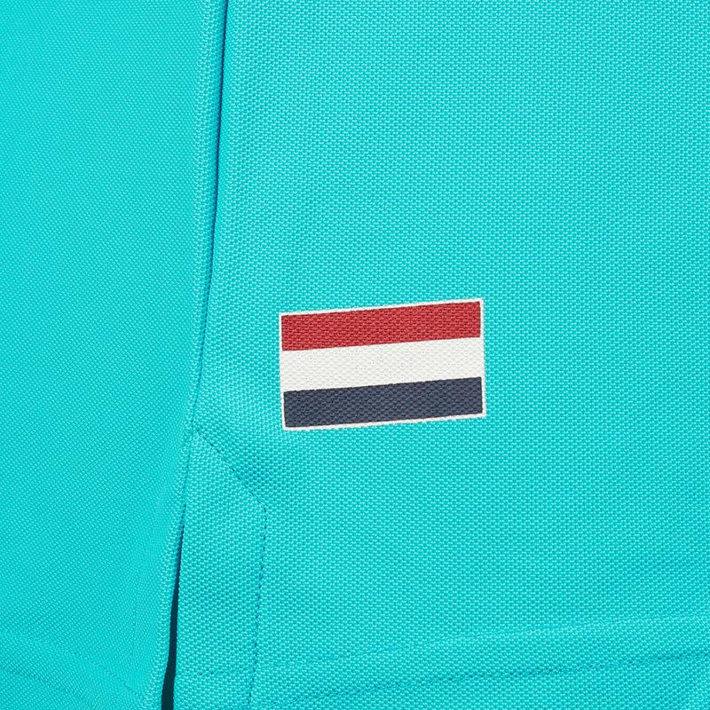 Q1905 Women's Polo Square - Aqua Blue