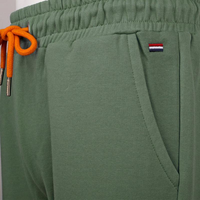 Q1905 Heren Sweatshort Naarden - Oase groen