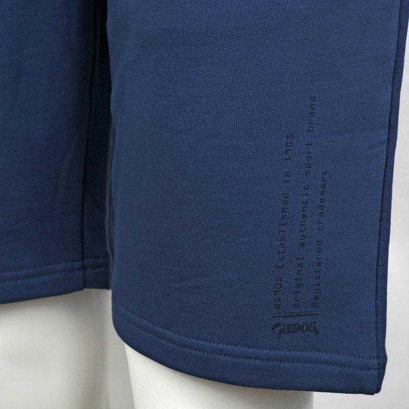 Q1905 Heren Sweatshort Naarden - Marine Blauw