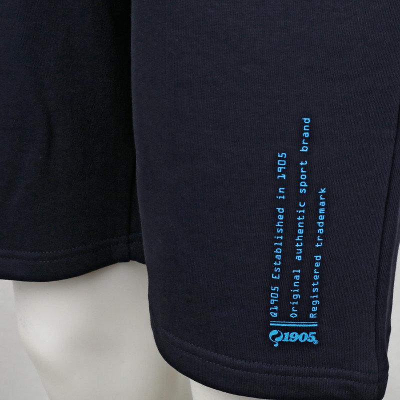 Q1905 Heren Sweatshort Naarden - Donkerblauw