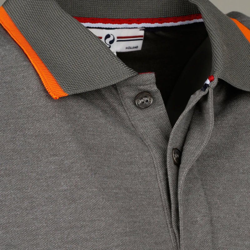 Q1905 Men's Polo Zomerland - Dark Grey