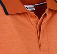 Q1905 Heren Polo Zomerland - Roest Oranje