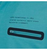 Q1905 Heren Polo Zomerland - Aqua Blauw
