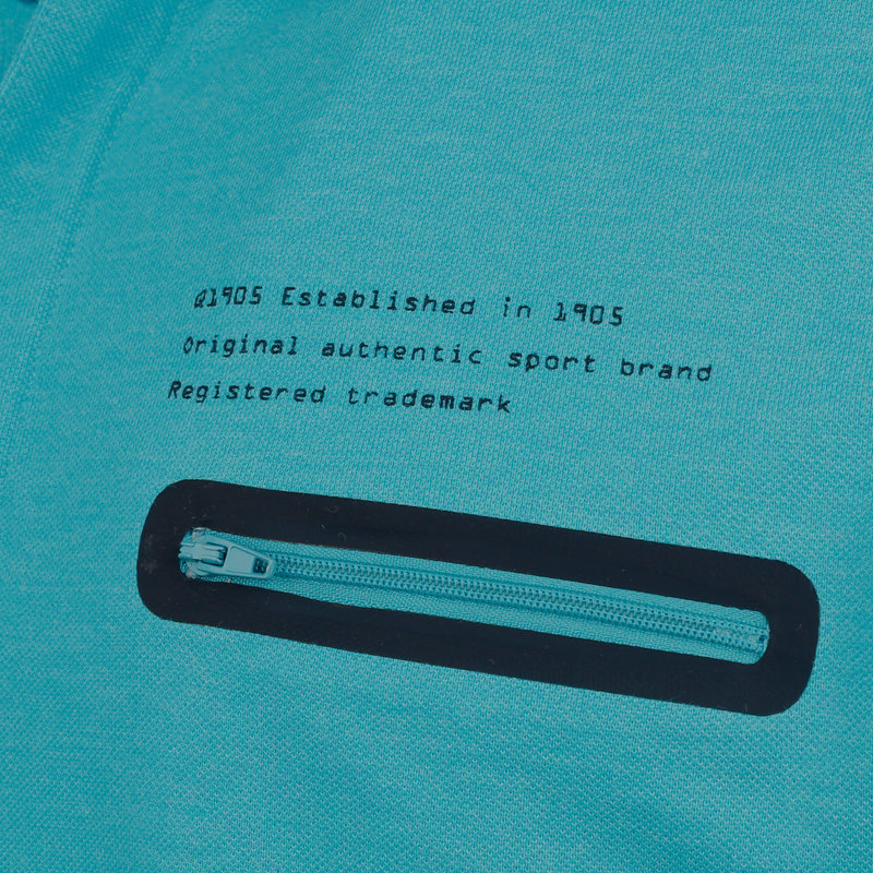 Q1905 Men's Polo Zomerland - Auqa blue