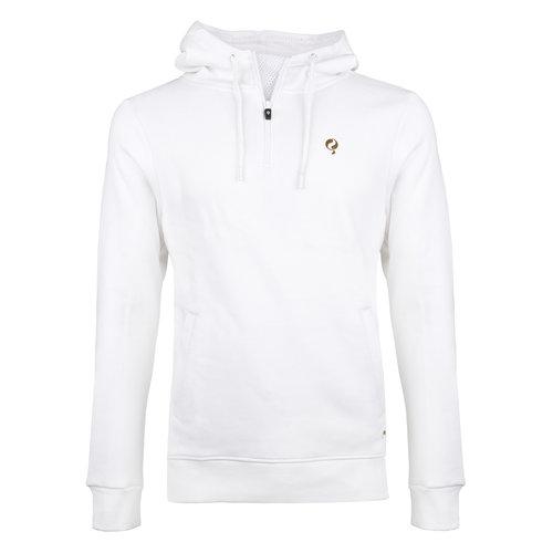 Heren Q Hooded Jacket M - White