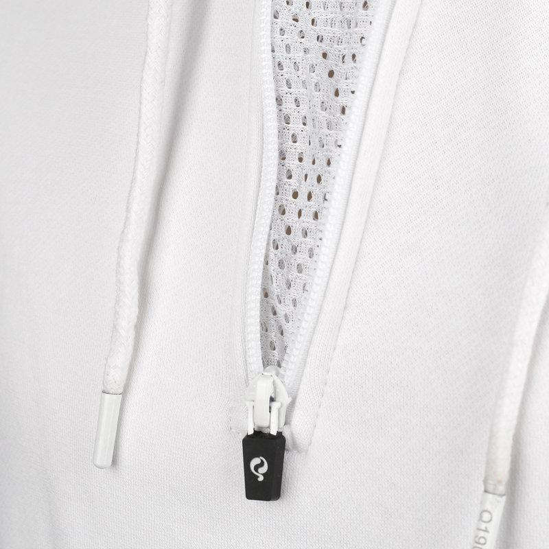 Q1905 Heren Q Hooded Jacket M - White