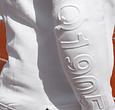 Q1905 Dames Q Hooded Jacket W - White