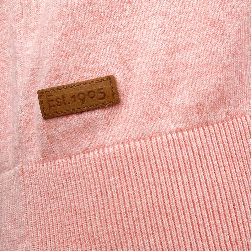 Q1905 Heren Polo Zoutelande - Licht Roze