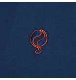 Q1905 Heren T-shirt Katwijk - Marine Blauw